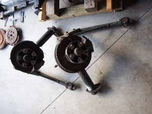 911 front suspension, rotors, brakes