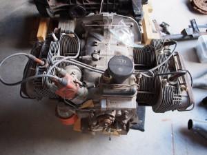Back of 1.7L motor