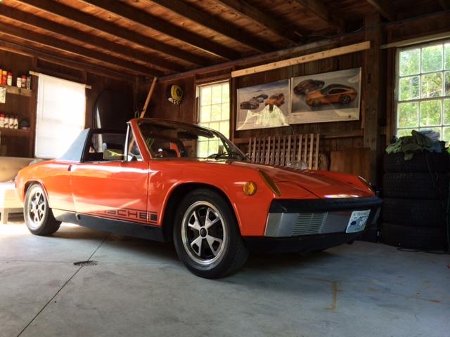 """First Project: 1973 Porsche 914 – """"Signal"""""""