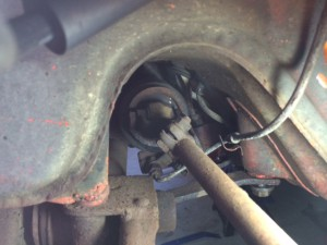 Old tie rod driver side