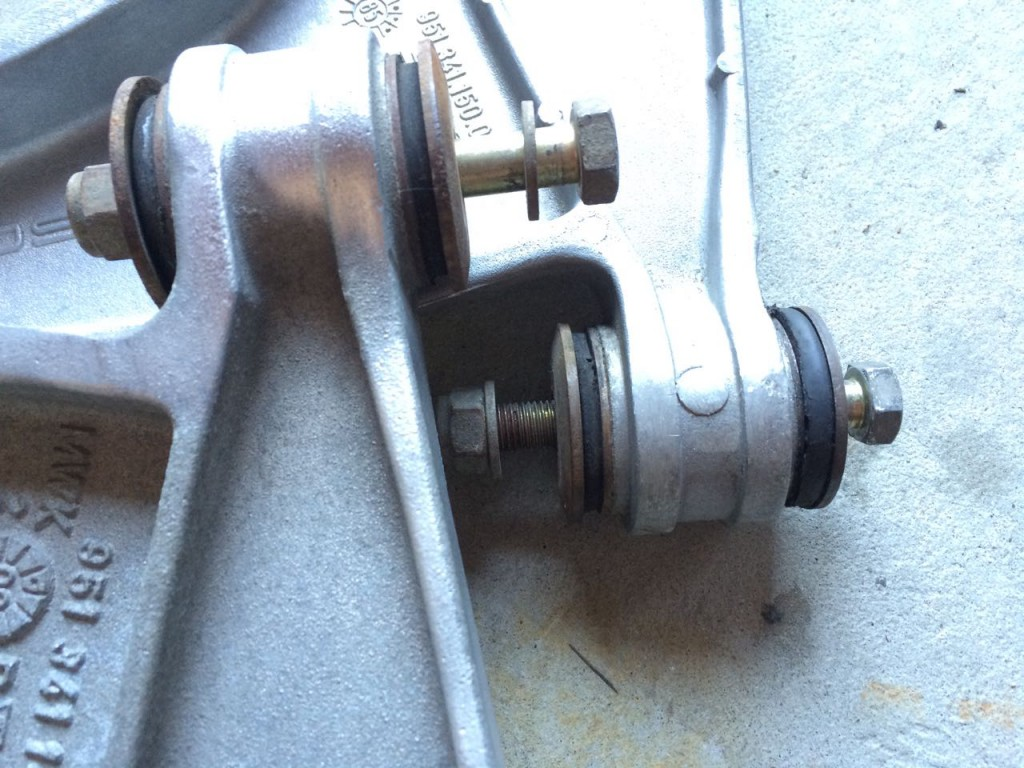 porsche 944 a-arm repair bushings