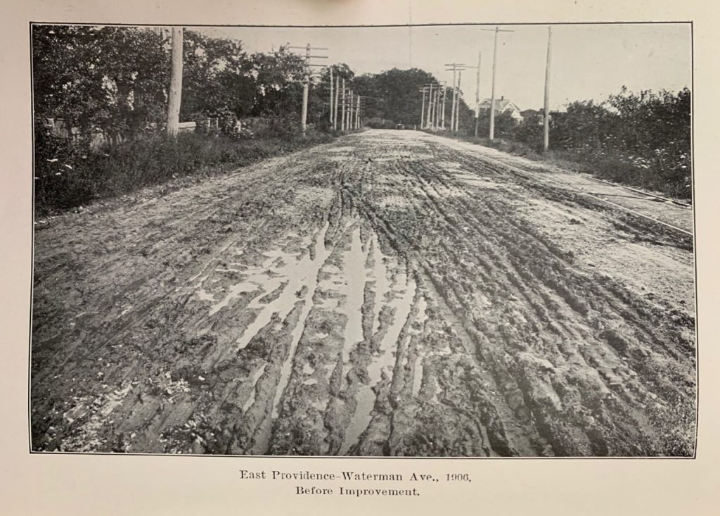 What Was The First Paved Road in RI?